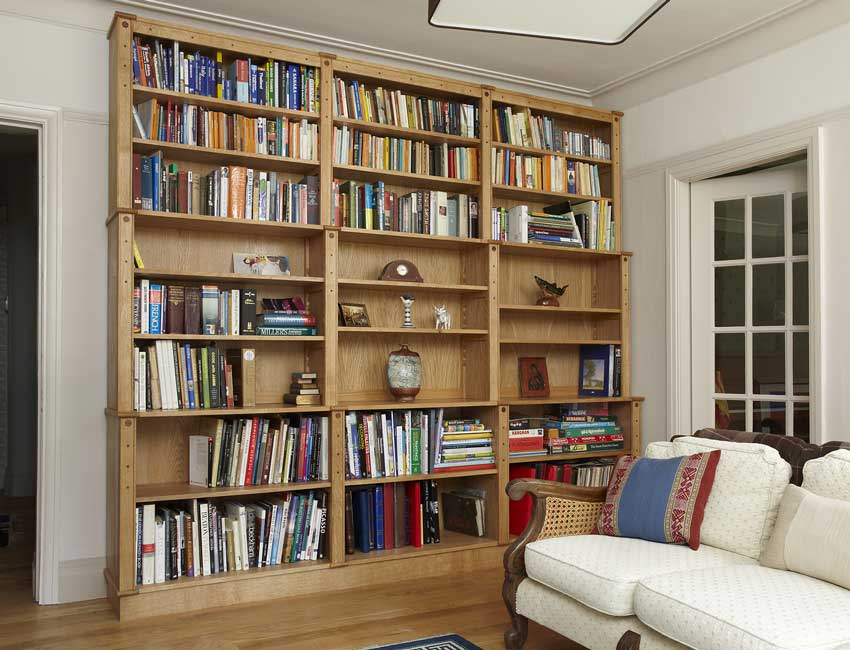 Large English Oak bookcase